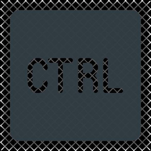Control Key Icon - Ctrl Key PNG
