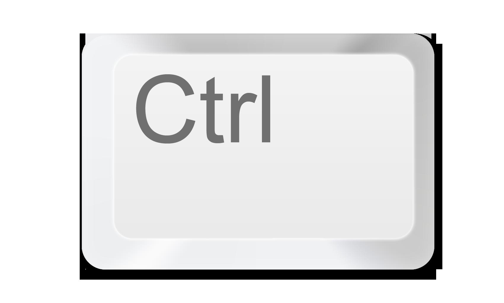 Ctrl Key PNG - 133350