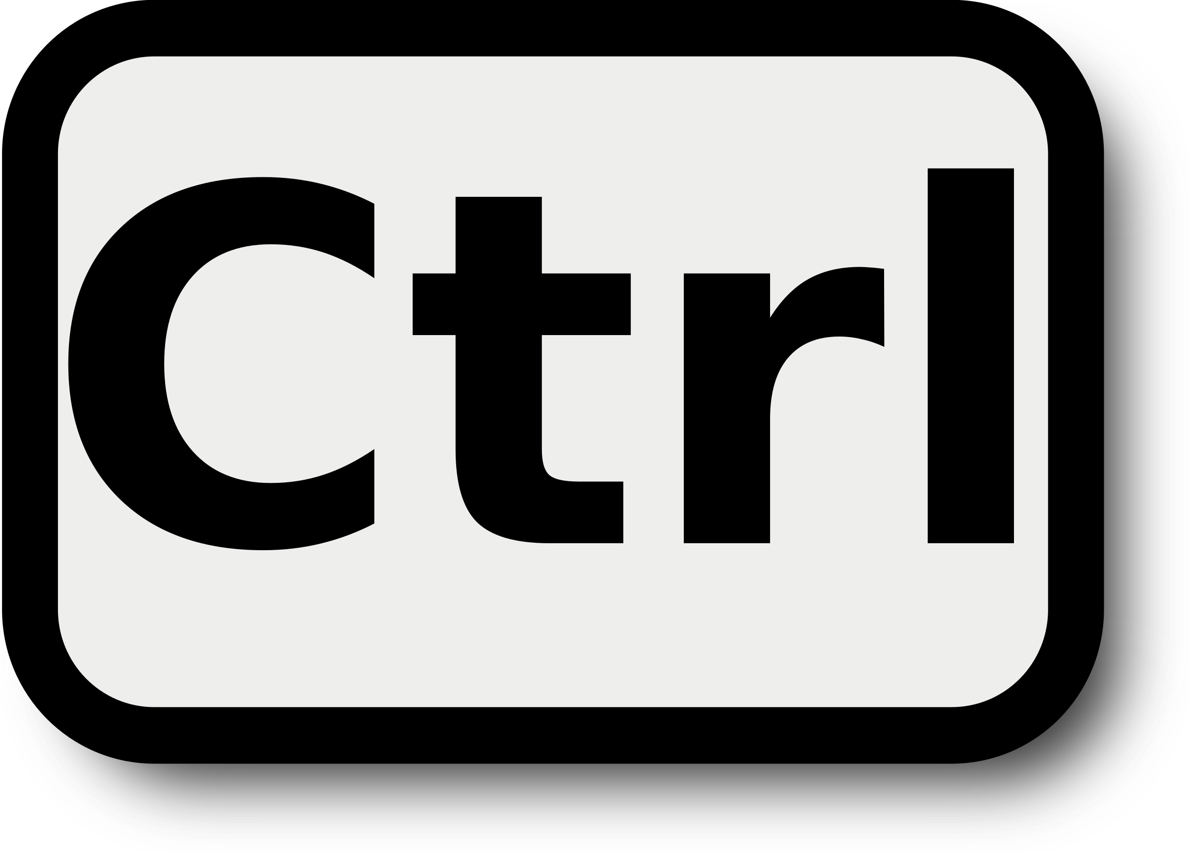 Ctrl Key PNG - 133347