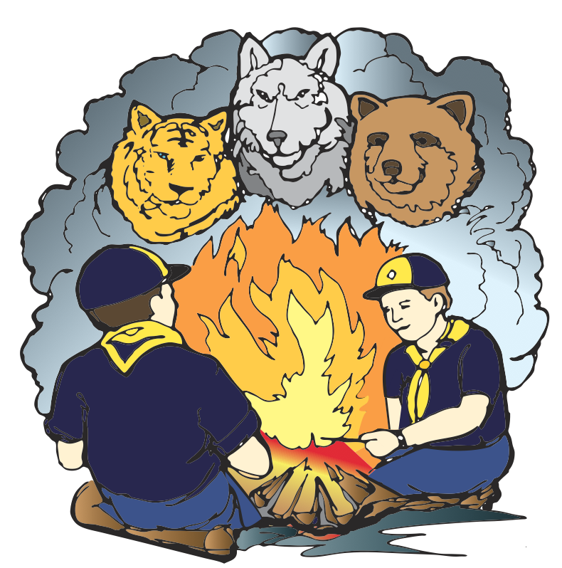 Cub Scout Camping Clipart - Cub Scout Camping PNG