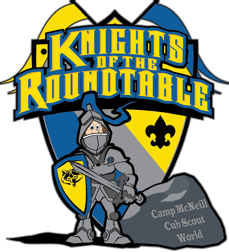 knights of the round table - Cub Scout Camping PNG