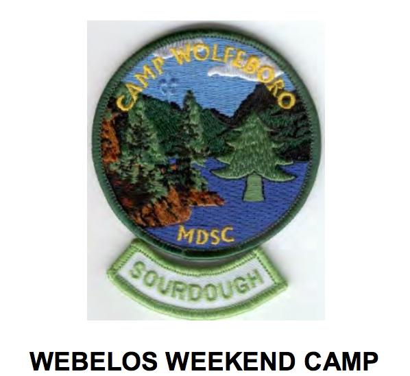 Webelos Weekend Camp 2017 - Cub Scout Camping PNG
