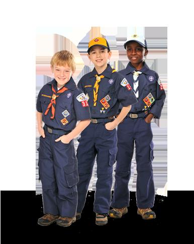 Cub Scout Uniform PNG
