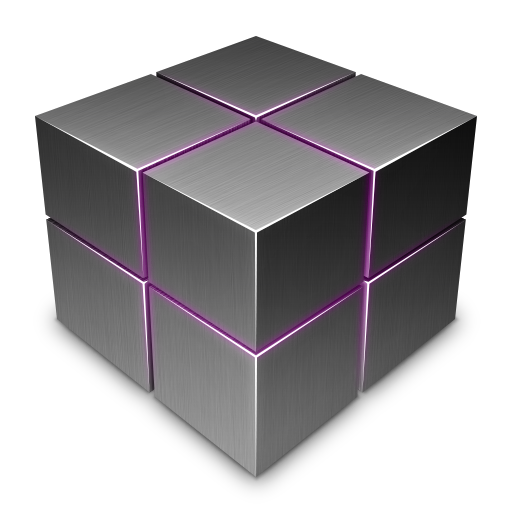 Dark Cube On Icon 512x512 png - Cube PNG