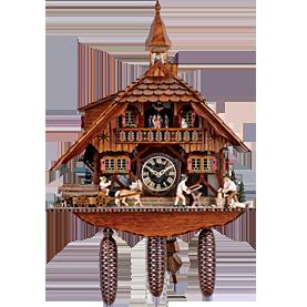 Chalet. Chalet Cuckoo Clocks - Cuckoo Clock PNG HD