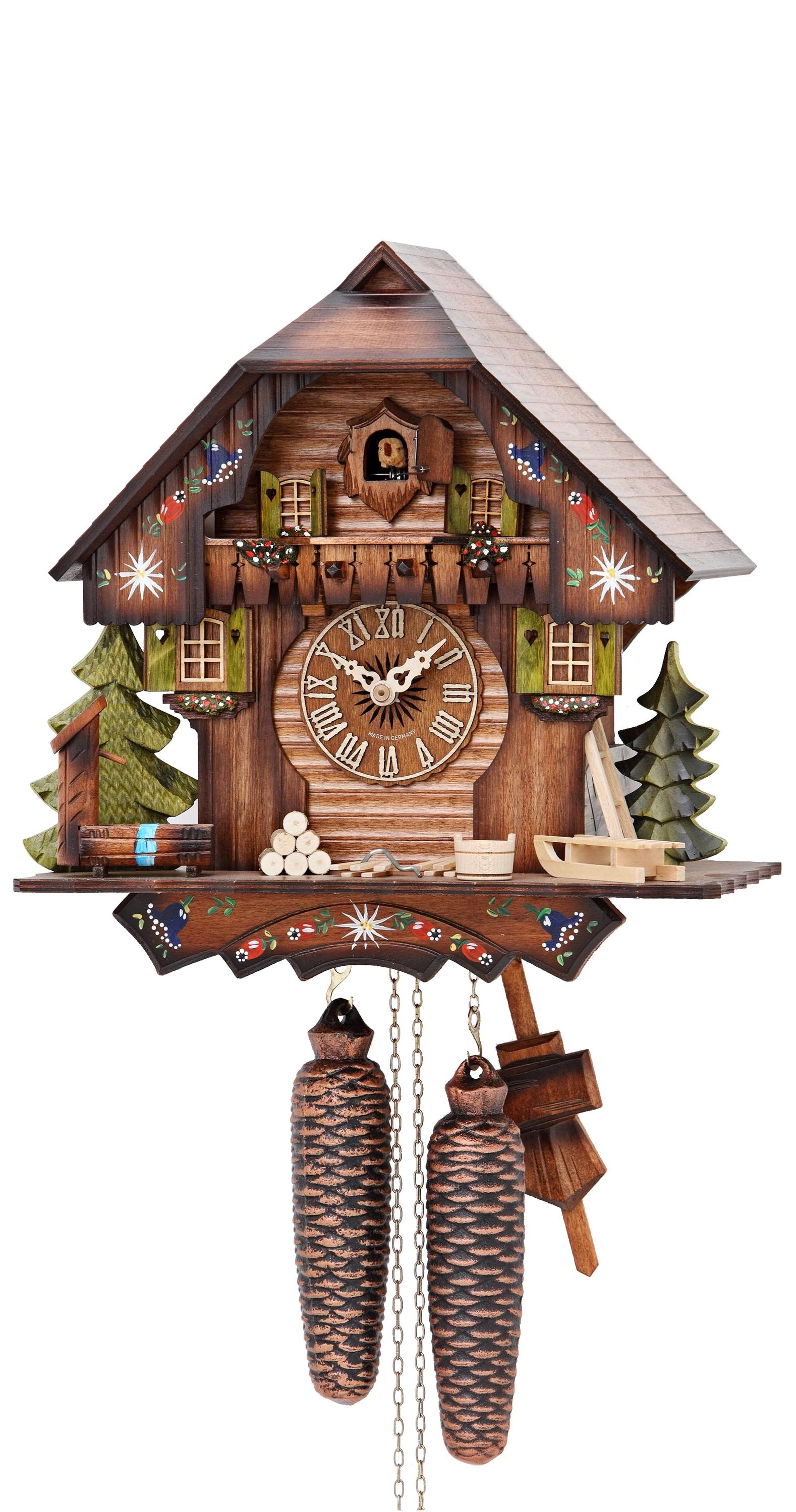 Cuckoo Clocku003cbru003eBlack Forest house KA 876 EX - Cuckoo Clock PNG HD
