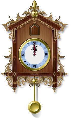 Cuckoo clock by it-s PlusPng.com  - Cuckoo Clock PNG HD