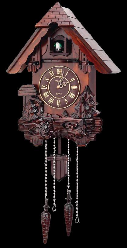 Cuckoo Clock v2 for xwidget by Jimking PlusPng.com  - Cuckoo Clock PNG HD