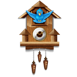 Download PNG | 256px Download ICO - Cuckoo Clock PNG HD