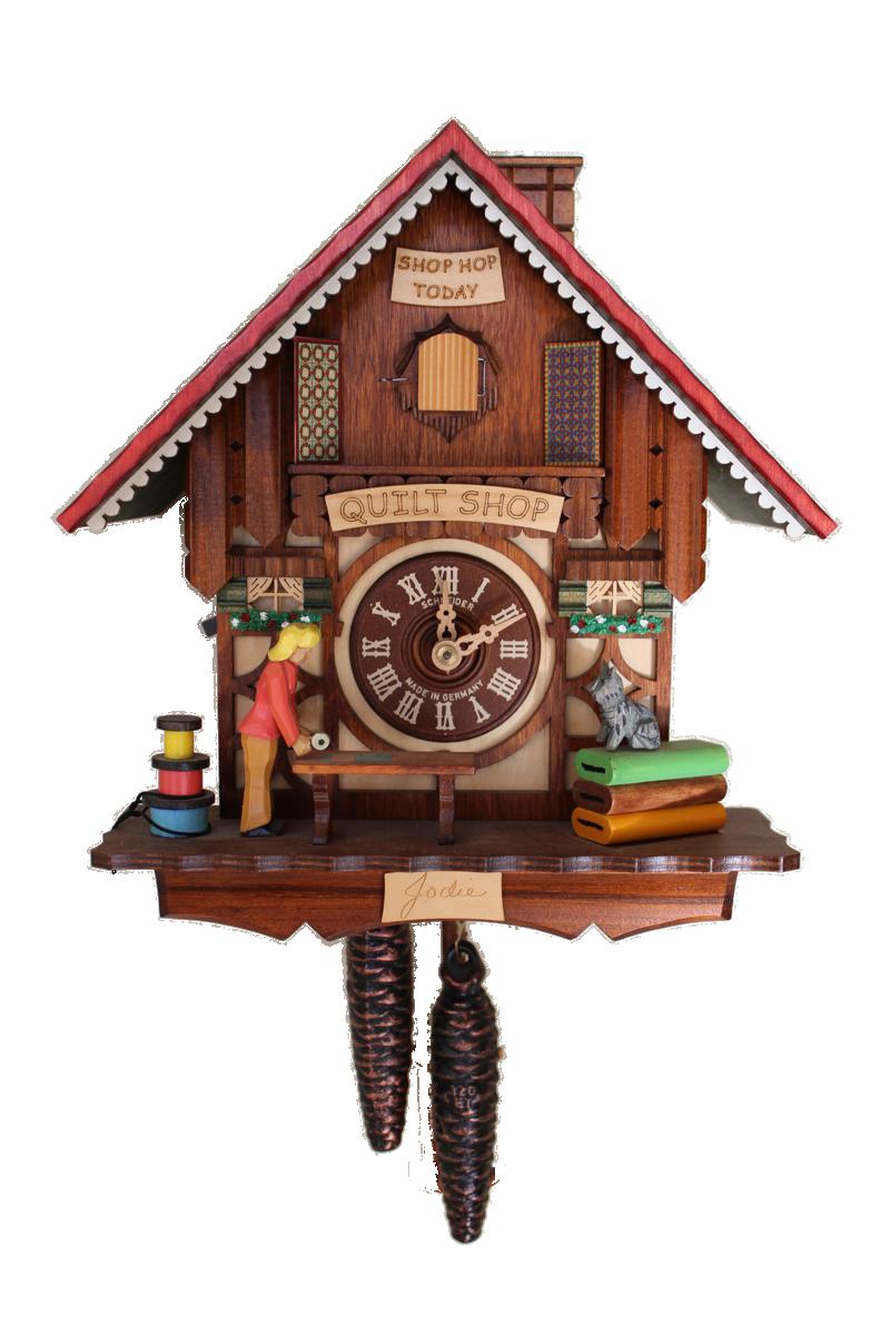 Quilt Shop Cuckoo Clock Facts - Cuckoo Clock PNG HD