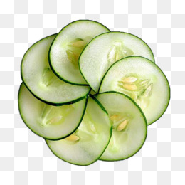 Fresh cucumber slices, Flower, Cucumber Slices, Vegetables PNG Image - Cucumber HD PNG
