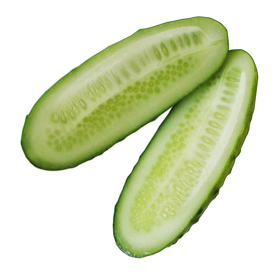 Cucumber Sliced PNG Image - Cucumber PNG