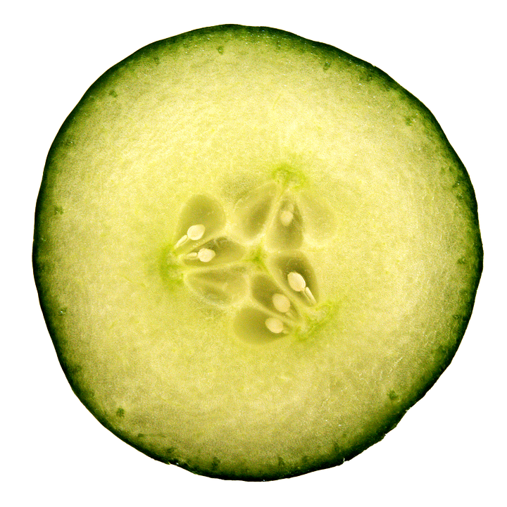Cucumber, Slice, Hydrate, Skin, Eye, Treatment, Care - Cucumber Slice PNG Black And White