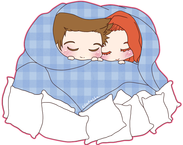 Nest Cuddle by Rugi-chan PlusPng.com  - Cuddle PNG