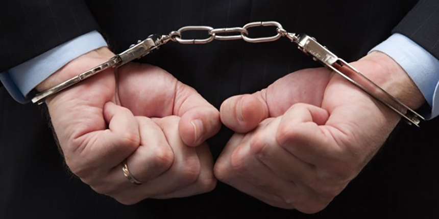 hands cuffed behind back - Cuffed Hands PNG