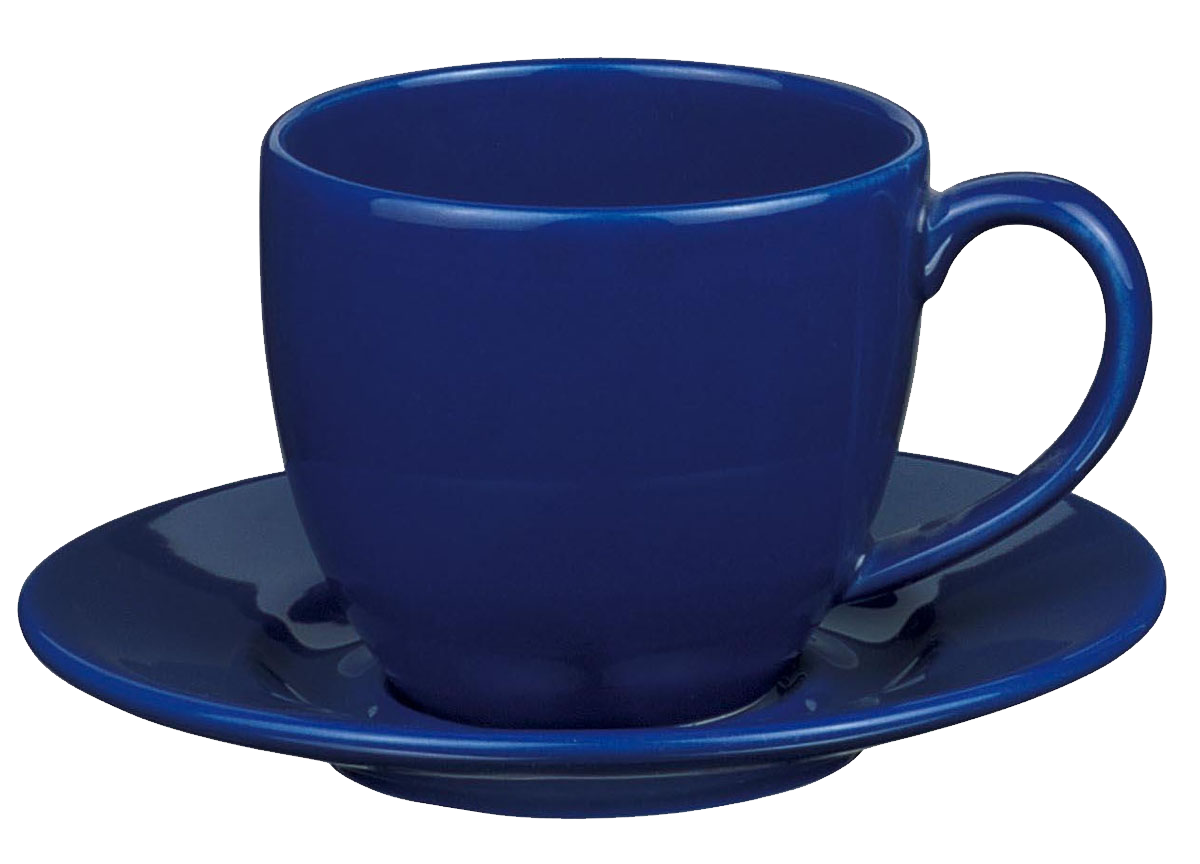 blue tea cup PNG image - Cup PNG
