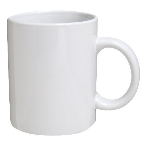 Example of white cup on white background - Cup PNG