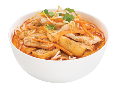 Curry Laksa (Chicken) - Chicken Curry PNG