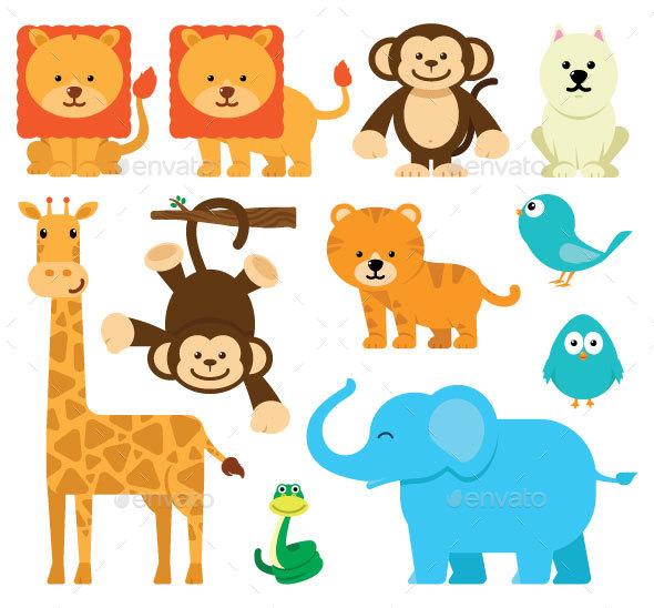 Cute Animal PNG HD - 127936