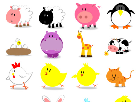 Cute Animal PNG HD - 127933