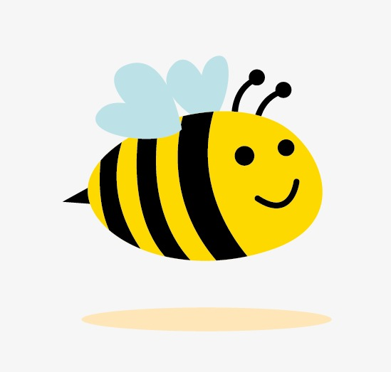 bee, Cartoon Bee, Vector Bee PNG and Vector - Cute Baby Bee PNG