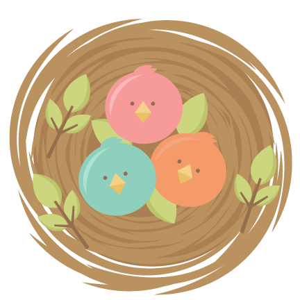 Baby Birds SVG cutting files for scrapbooking cute svg cuts free svgs for  cricut cutting files silhouette - Cute Baby Bird PNG
