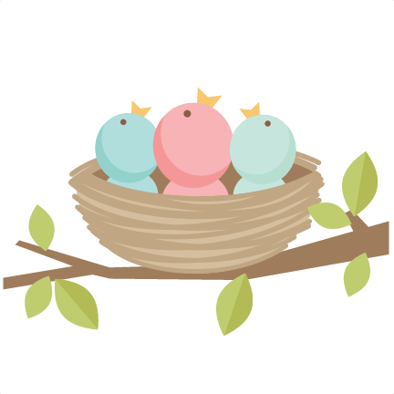 Baby Birds SVG scrapbook cut file cute clipart files for silhouette cricut  pazzles free svgs free svg cuts cute cut files - Cute Baby Bird PNG