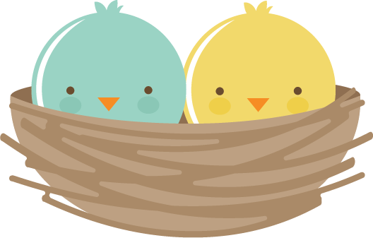 Birds In Nest SVG files for scrapbooking cardmaking svg files for cutting  machines cute svg cuts free svgs - Cute Baby Bird PNG