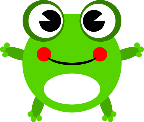 Cute Baby Frog Clipart #1 - Cute Baby Frog PNG