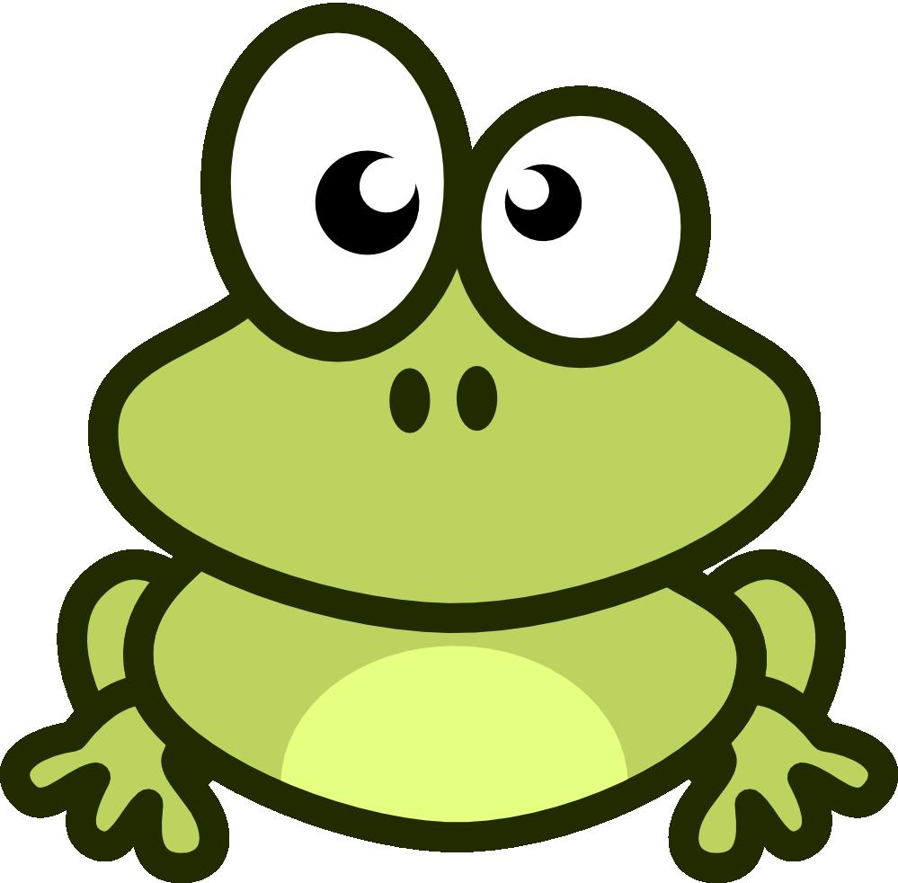 Frog Clip Art - Cute Baby Frog PNG