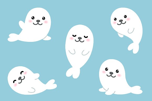 Cute Baby Seal PNG-PlusPNG.com-580 - Cute Baby Seal PNG