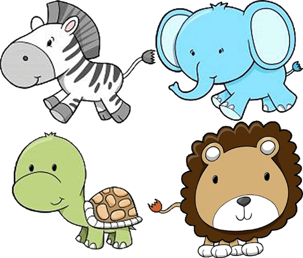 Cute Baby Zoo Animals PNG - 166535