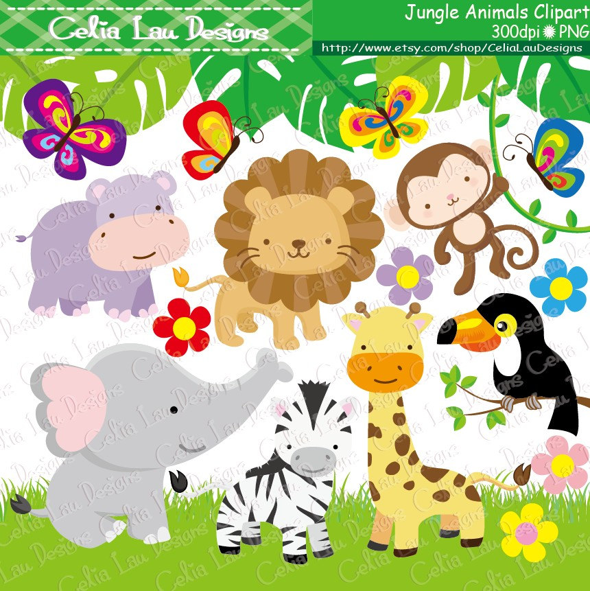 Cute Baby Zoo Animals PNG - 166536