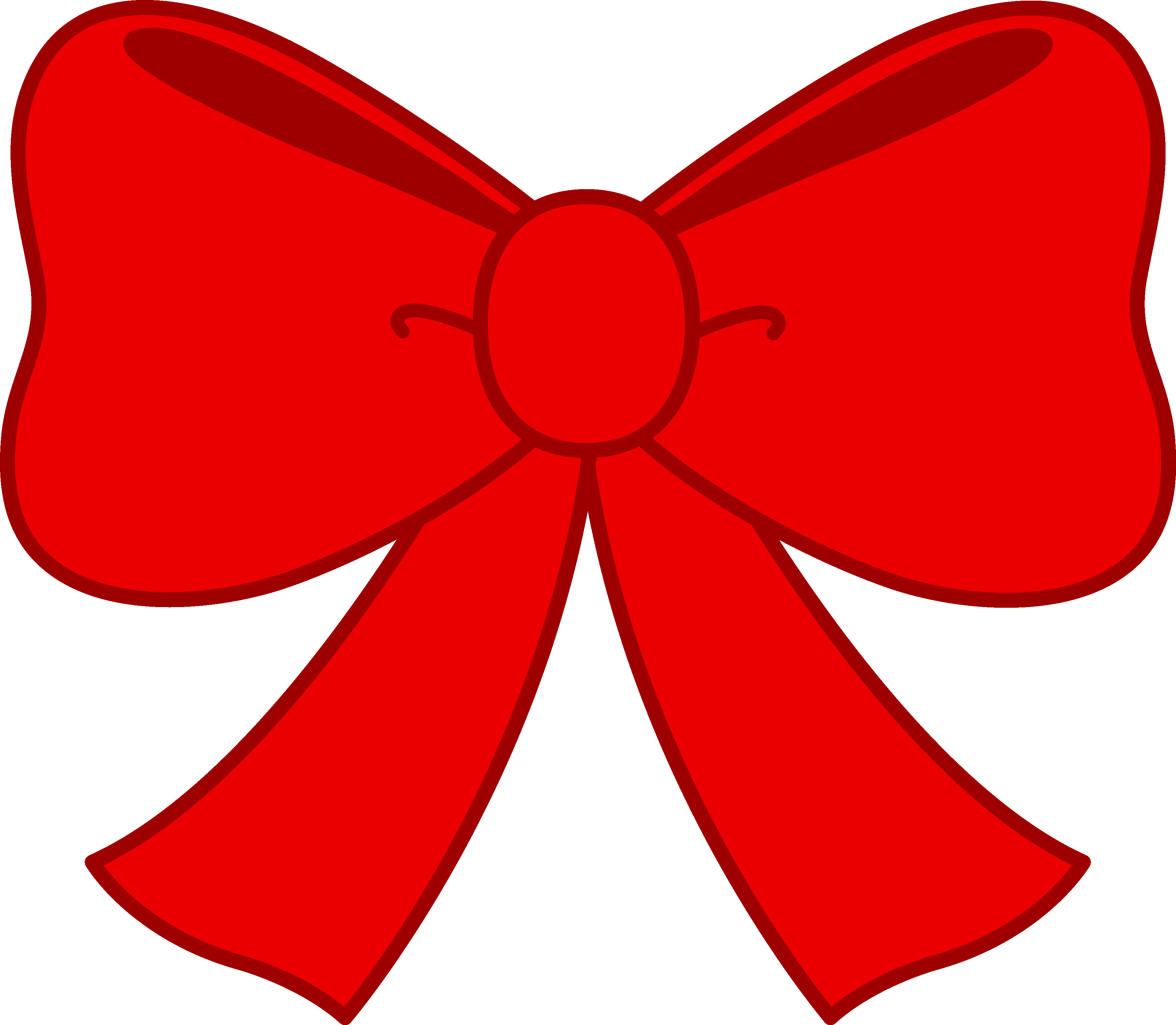 Cute Red Bow Clipart - Free Clip Art - Cute Bow PNG HD