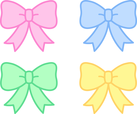 Ribbon clipart cute #3 - Cute Bow PNG HD