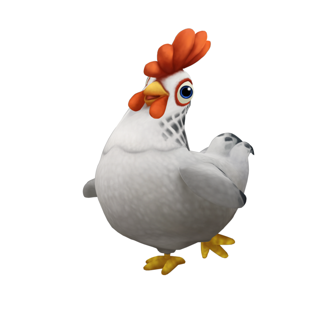 Cute Cartoon Chicken Png image #40299 - Chicken PNG