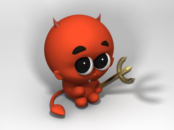 Cute Devil PNG HD