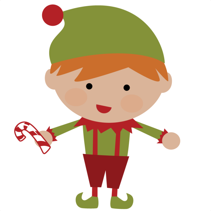 50 cents---Elf SVG file for scrapbooking cute christmas elf svg cut  christmas - Cute Elves PNG
