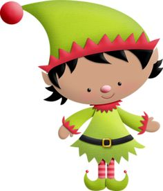cartoon elves. - Cute Elves PNG
