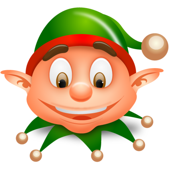 Christmas elf clip art clipart - Cute Elves PNG