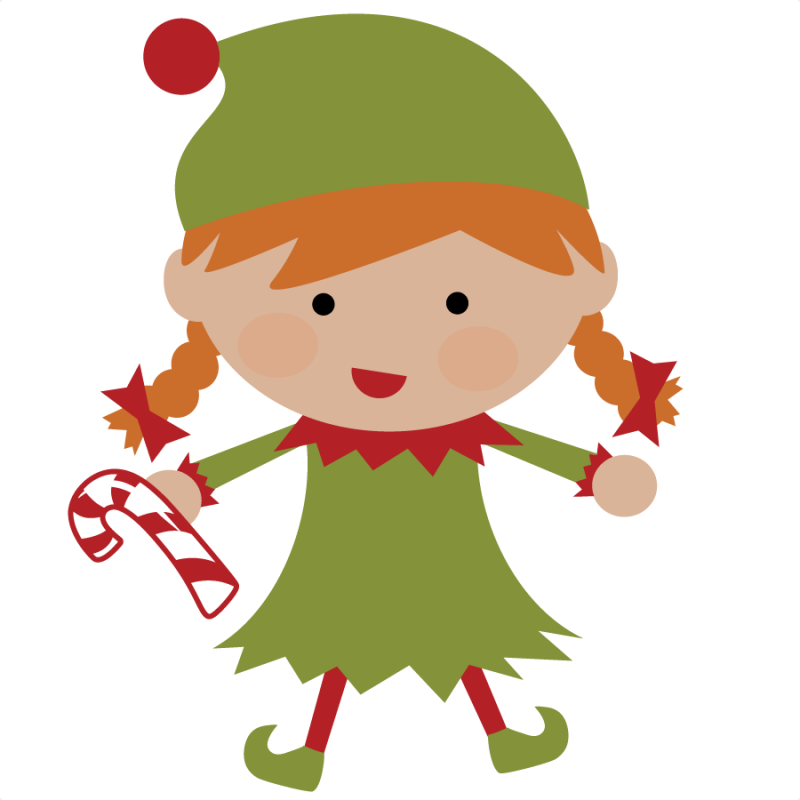 christmas elves | Elf SVG file for scrapbooking cute christmas elf svg cut  christmas . - Cute Elves PNG