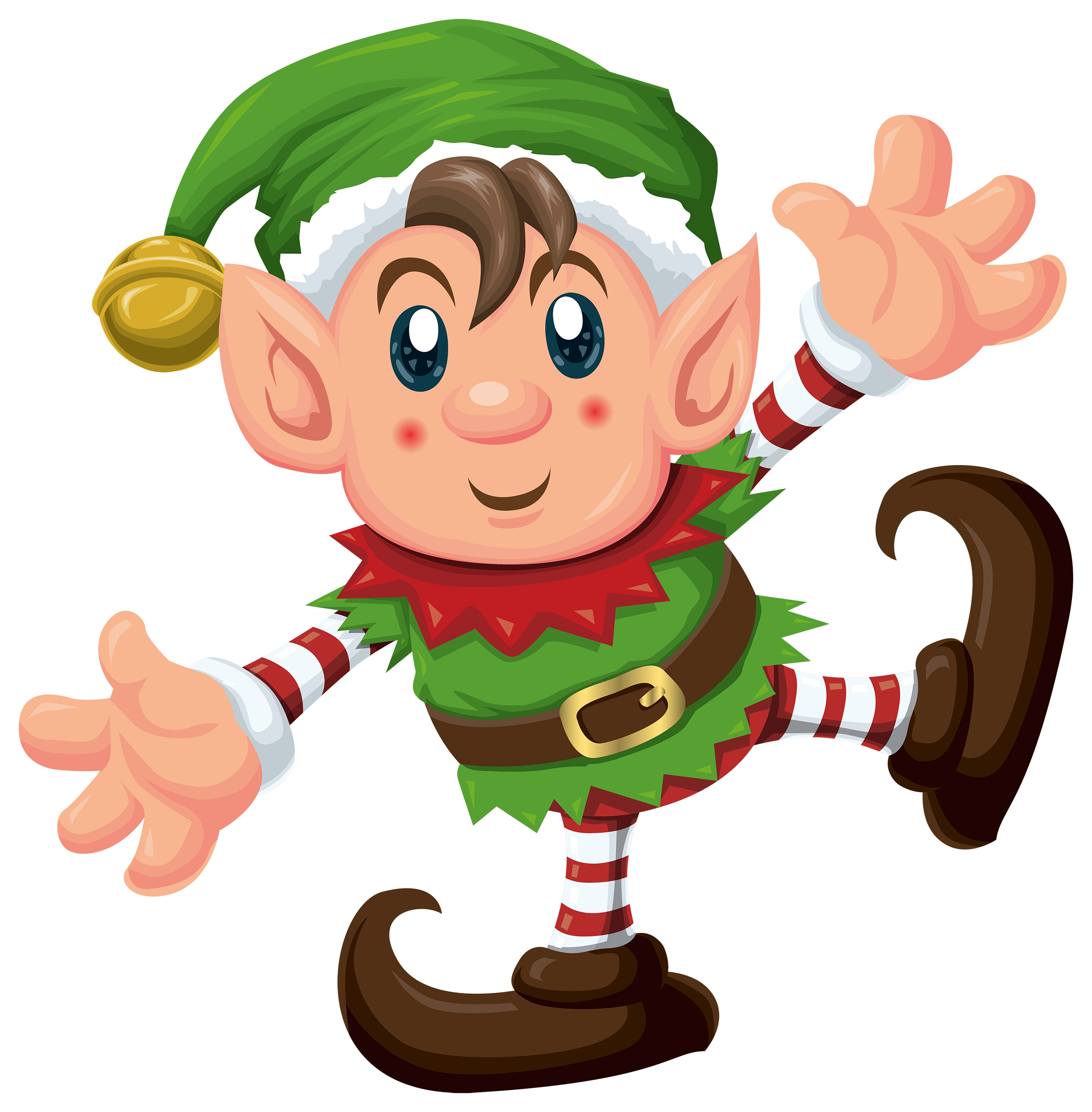 Cute Elf PNG Clipart - Cute Elves PNG