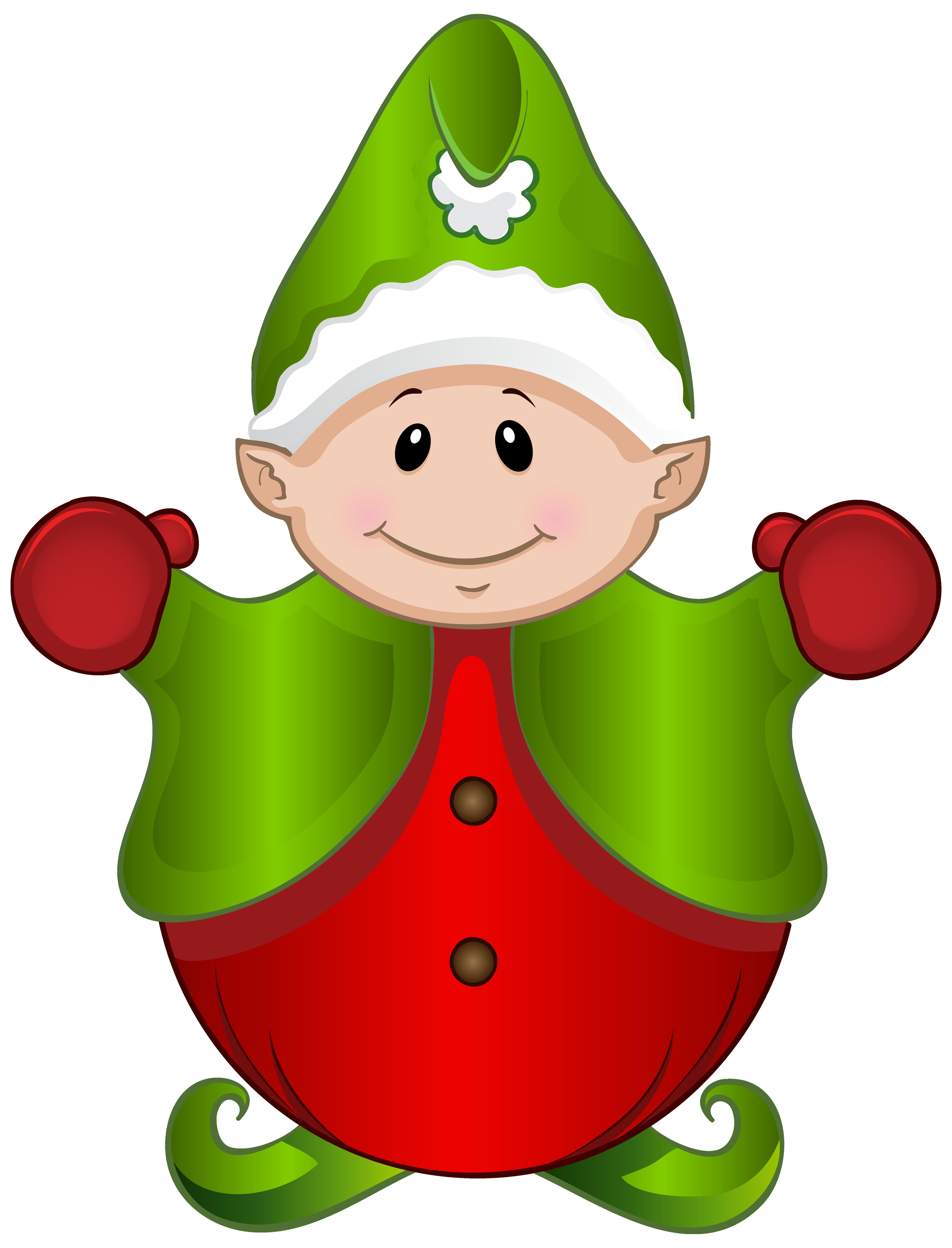 Cute Elf PNG Clipart Image - Cute Elves PNG