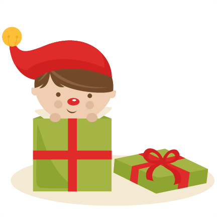 Elf clipart christmas presents #3 - Cute Elves PNG