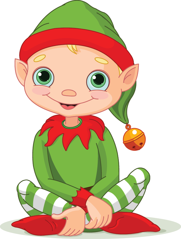 Elf clipart smile #7 - Cute Elves PNG