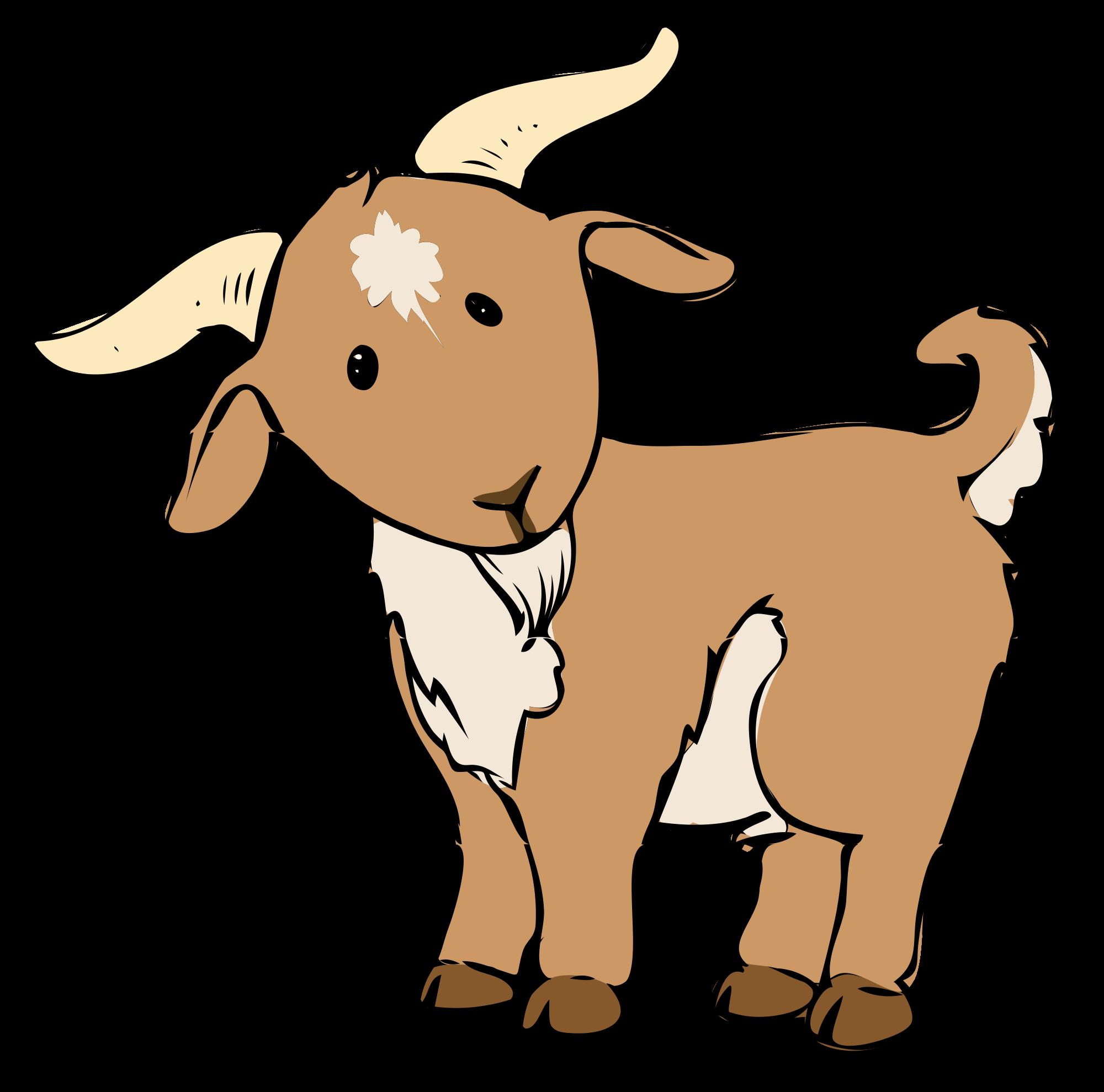 Cute Goat PNG HD
