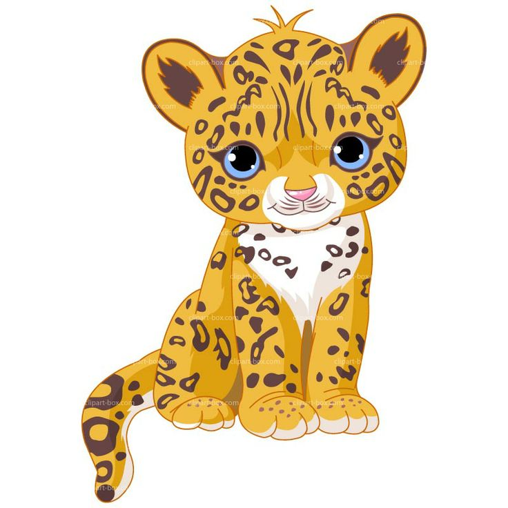 Illustration of Cute Jaguar (Panther) Cub - buy this stock vector on  Shutterstock u0026 find other images. - Cute Jaguar PNG