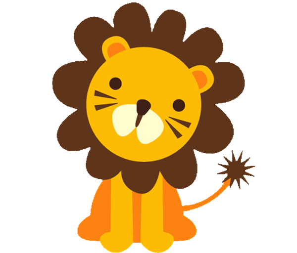 Cute Jungle Animals PNG HD - 121602