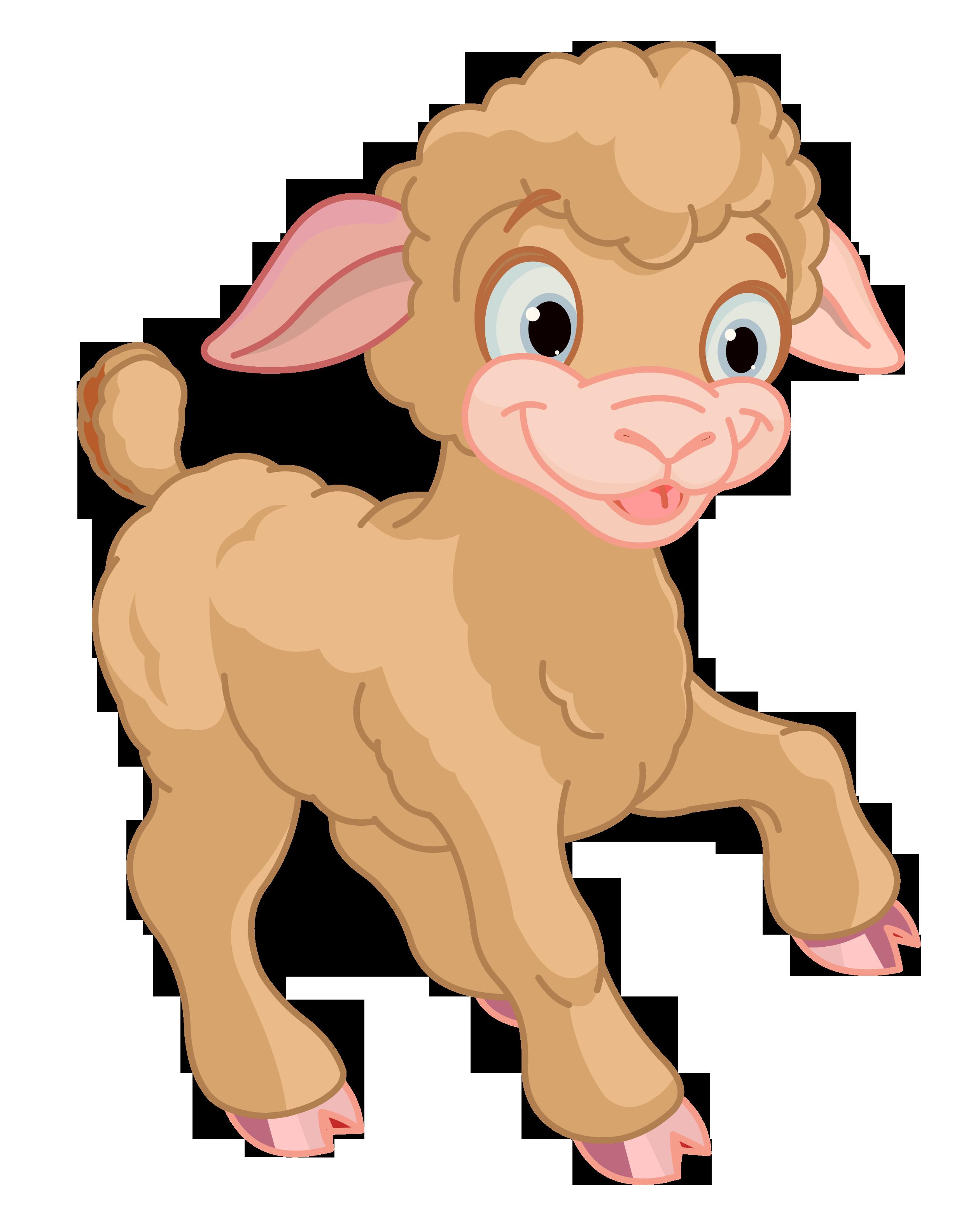 Cute Lamb PNG HD-PlusPNG.com-2520 - Cute Lamb PNG HD