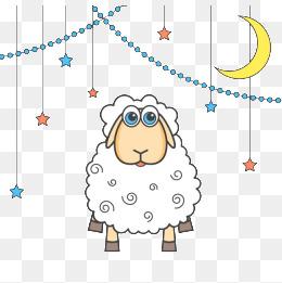 a cute lamb, Eid Background, Cartoon, Yang Zi PNG and PSD - Cute Lamb PNG HD